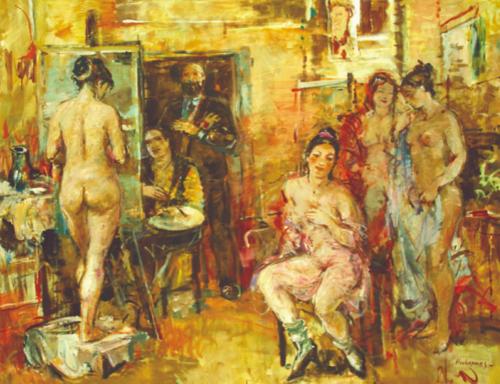Hovhannes Harutyunyan painting 001
